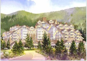 The Montage Resort & Spa Rendering