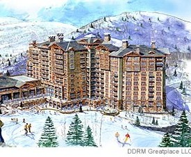 St. Regis Resort & Residences - Deer Crest, Rendering