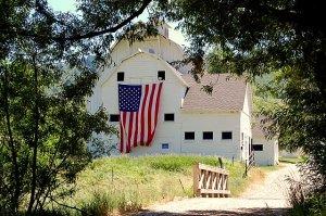 White Barn in Park City, Utah